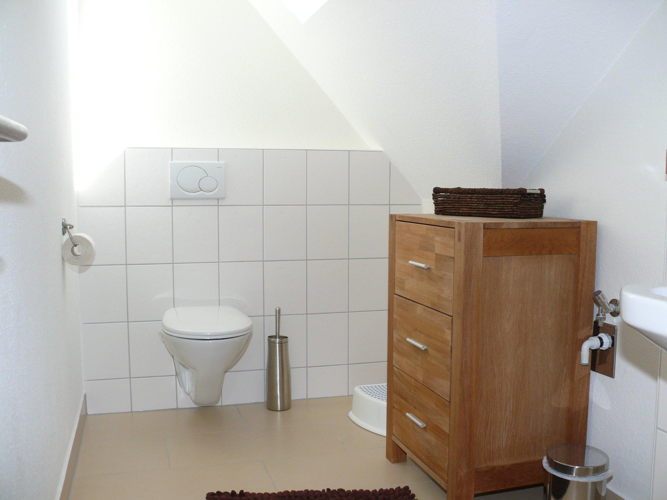 Badezimmer in der Ferienwohnung