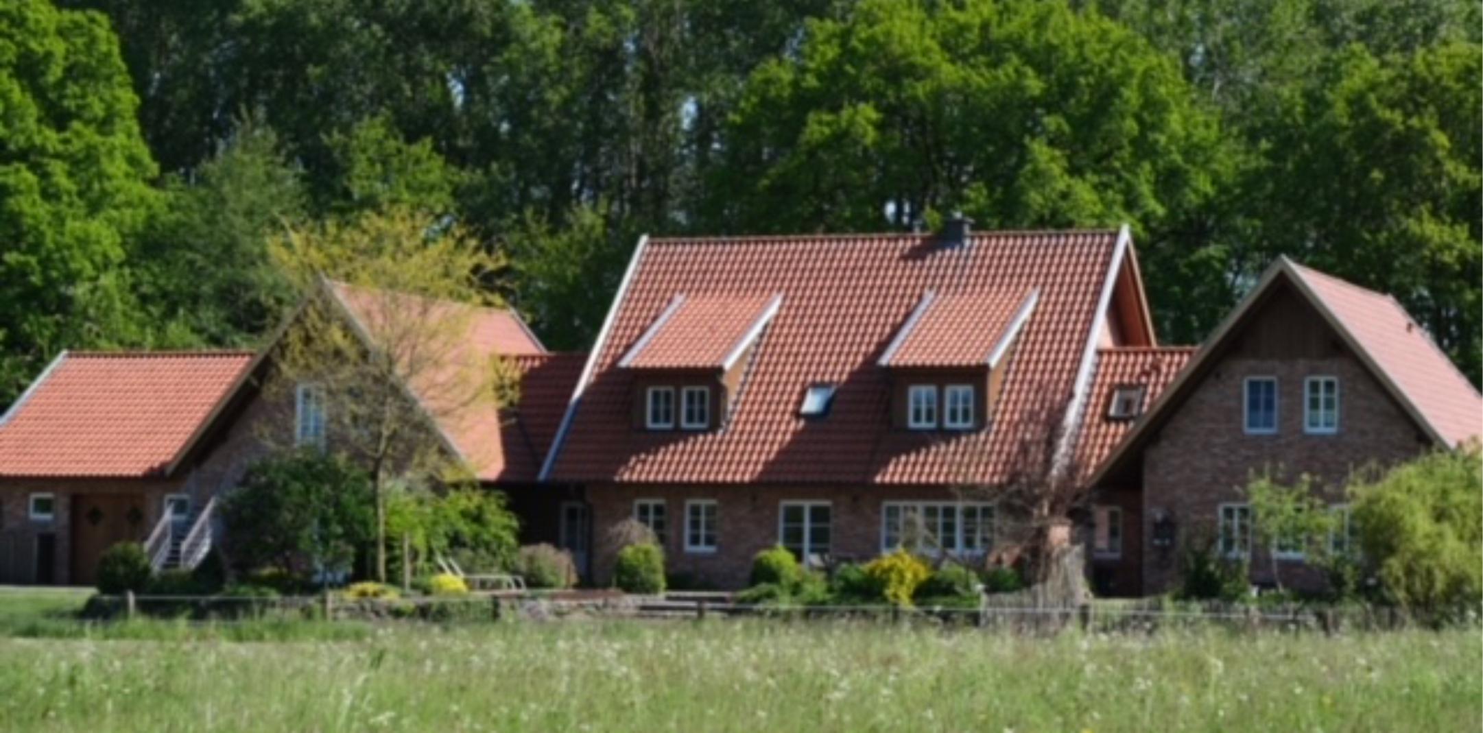 Alfsee Urlaub Gesamtansicht Haus